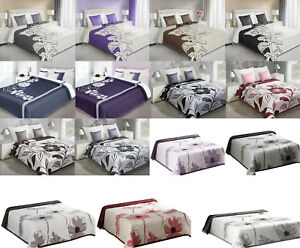 Zweiseitige Tagesdecke doppelseitig  Bettüberwurf 170X210 220X240 VIELE MUSTER