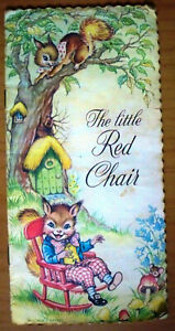 The-Little-Red-Chair-Illustrated-by-Yvonne-Perrin-Vintage-Book