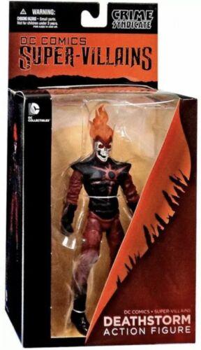DC Super Villains Crime Syndicate Forever Evil Deathstorm Action Figure NIB MWOB
