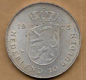 10 Gulden Argent 1973