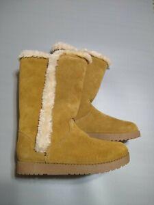 Women/'s Daniela Suede Winter Tall Boots Size 7