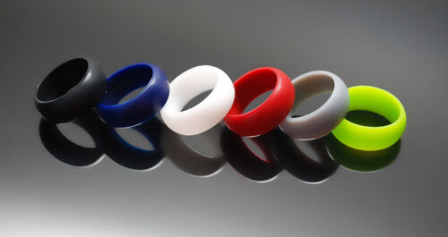 9mm HSP Thick Silicone wedding Ring rubber ring Crossfit, Military, police