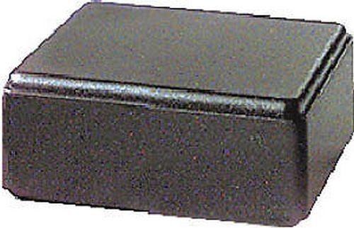 CONTENITORE PER ELETTRONICA PLASTICO 55x57x28mm NERO 50//36