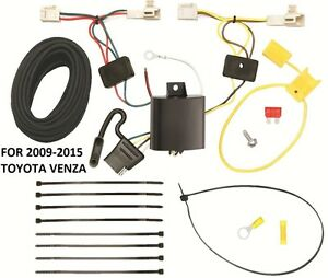 Tremendous Trailer Hitch Wiring Kit Harness For 09 15 Toyota Venza Plug Play Wiring Digital Resources Ommitdefiancerspsorg