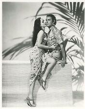 MARIA MONTEZ  JON HALL ARABIAN NIGHT 1942 VINTAGE PHOTO N°2