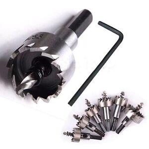 Eg-16-50mm-Carbure-Pointe-Incline-Set-Meche-Perceuse-Metal-Bois-Couteau-Tro