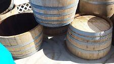 Half Wine Barrel Planter/Table - FREE SHIPPING!