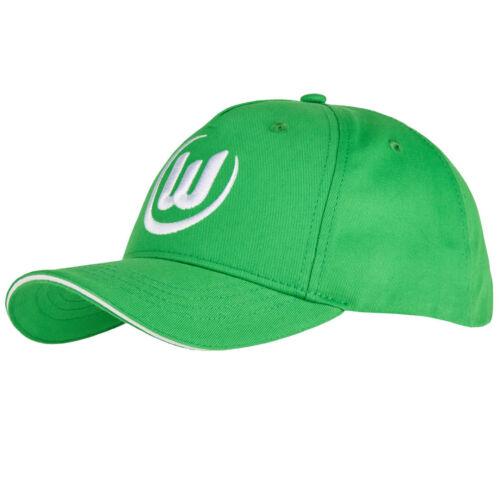 Basic Cap Logo Grün  VFL Wolfsburg