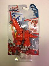 Playskool Transformers Rescue Bots HEATWAVE the Rescue Dinobot Figure