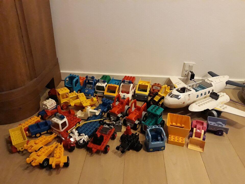 Lego Duplo, 25 kg samlet.