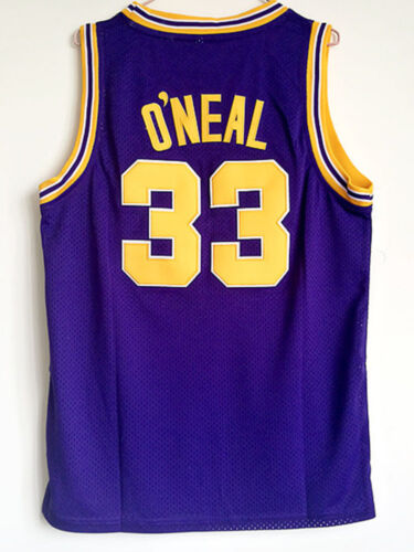 the best online store offer Shaquille O'neal Jersey 33# LSU Tigers ...