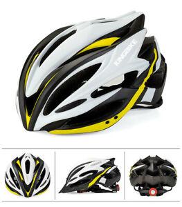Ultralight Adult Bicycle Helmet &Tail Light Cycling MTB Bike Sport Safety Helmet