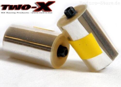 TWO-X Race Roll Off Film Paar klar Roll-Off clear