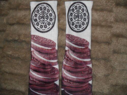 Custom Oreo V Dri Fit socks white gamma laney oreo I III IV V  TshirtConnex