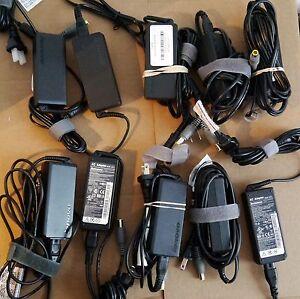 Lot-10-Lenovo-Thinkpad-65-W-AC-ADAPTATEUR-LAPTOP-CHARGEUR-T400-T500-X230-X220-X200