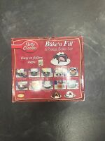 Betty Crocker Bake N Fill 4 Piece Bake Set & Idea/cook Booklet