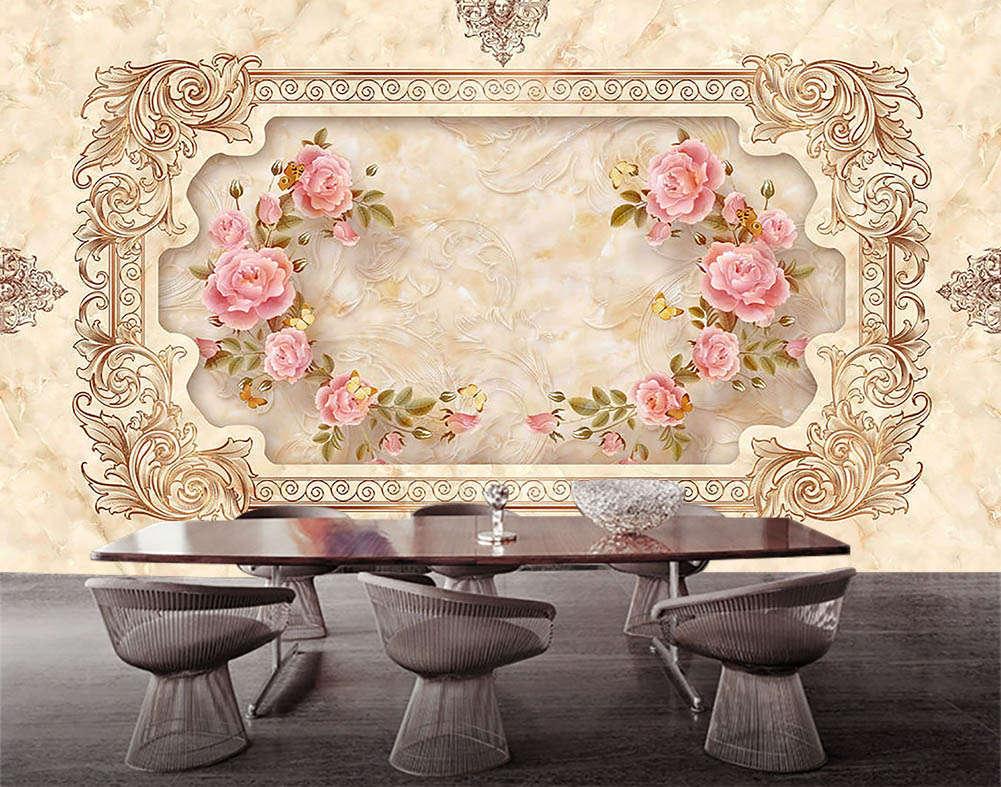 Little Fairy Female 3D Full Wall Mural Photo Wallpaper Printing Home Kids Decor