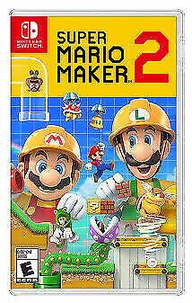Super Mario Maker 2 -- Standard Edition Nintendo Switch, 2019  - $29.00
