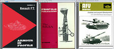 400+ Profile Publications Aircraft, Warships, Arms, Armour, AFV Collection - DVD
