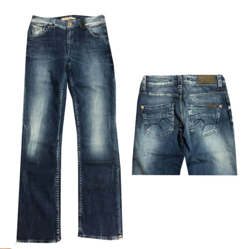 l32 NUOVO Mustang Emily Donna Jeans Pantaloni superfici curve lisce Fit w26 w27 w28 Lunghezza