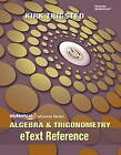EText Reference for Trigsted Algebra & Trigonometry by Kirk Trigsted (Spiral bound, 2011)