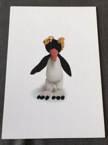 Toft Edward Menagerie Petra el Rockhopper Pingüino patrón de ganchillo