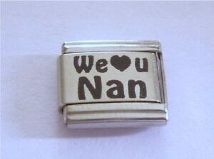 9mm-Italian-Charm-L62-Our-We-Love-You-U-Nan-Fits-Classic-Size-Bracelet