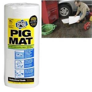 "New Pig 26201 Cochon Oil-absorbent Léger Tapis Rouleau - 15 "" X 50 ',60"