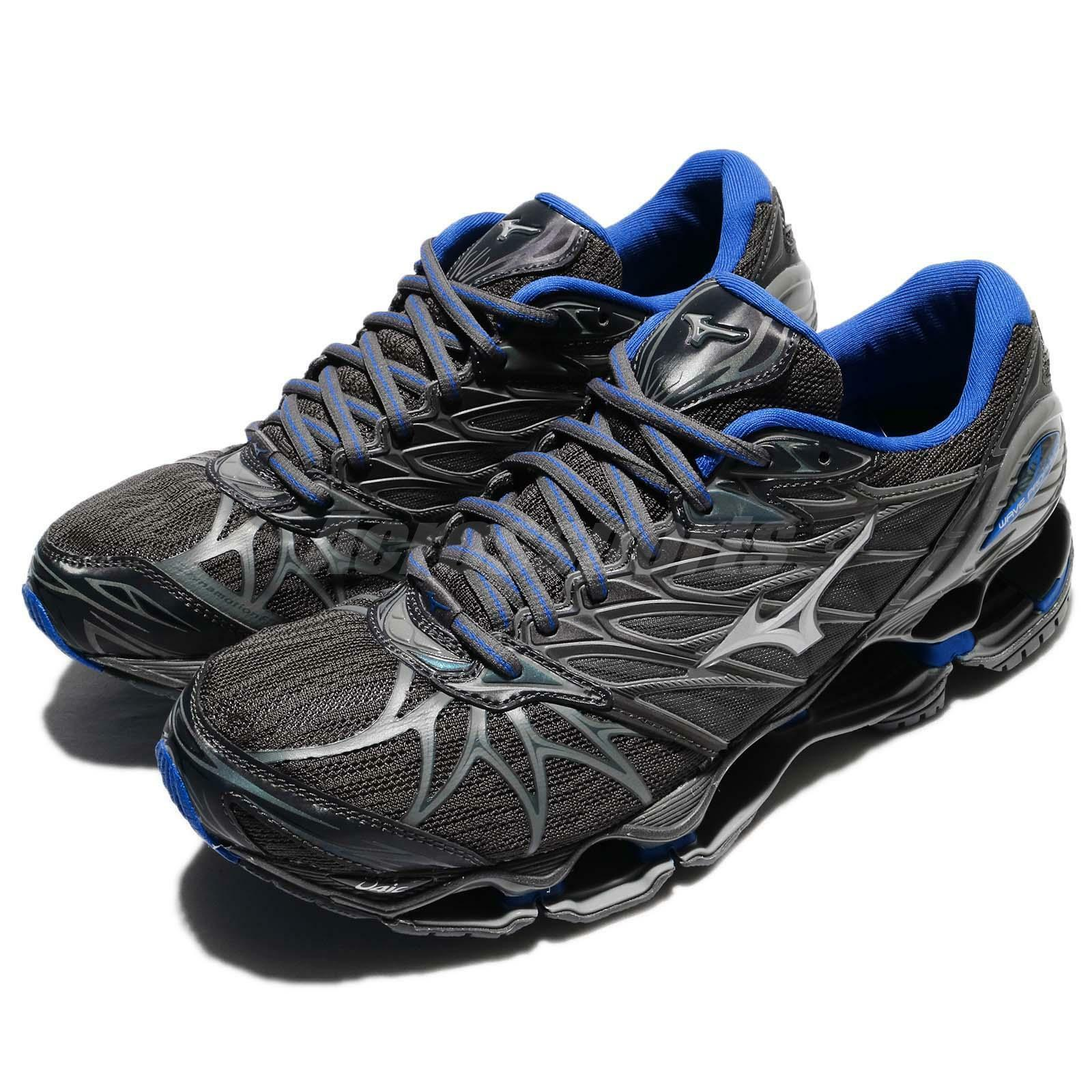 Mizuno Wave Prophecy 7 Nova VII Grey bluee Men Running shoes Trainers J1GC1817-03
