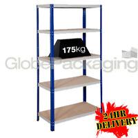 1 x HEAVY DUTY Racking Storage Metal Shelving Warehouse Bay For Garage Workshop