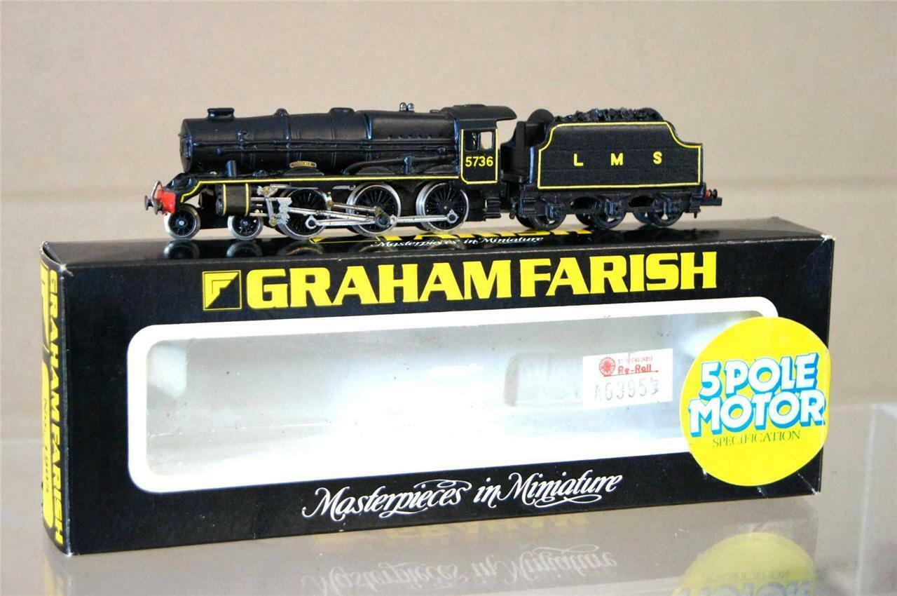 Graham Farish 1905 Kit Montado Langley Lms 4 6 0 Aniversario Class Loco 5736