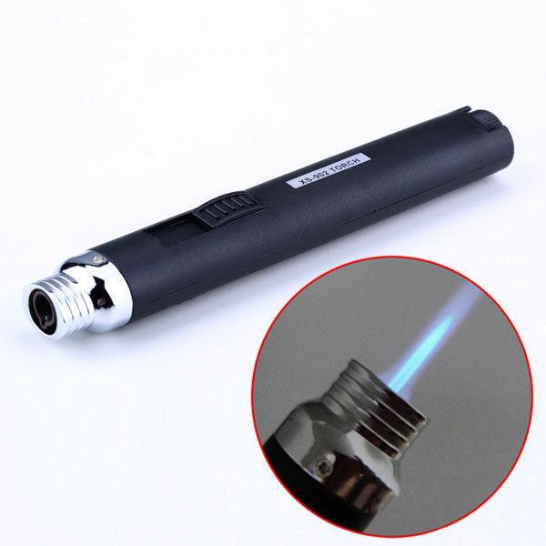 Jet Flame Butane Gas Refill Lighter Welding Torch Soldering Pen Camping Outdoor
