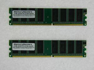 1GB 2x512MB Memory DELL Dimension 2350 2400 3000 4400 Computers ...