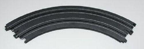 "TOMY AFX Track 8623 Slot Car Set NEW 9/"" curved 2 pc 1//4"