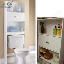 Over The Toilet Bathroom Storage Cabinet Cupboard Spacesaver