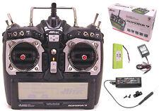 Hitec Aurora 9 2.4GHz HELI AIR Radio Optima 7 Receiver MD2 Radio Transmitter MD2