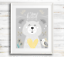 Woodland-Animals-Nursery-Prints-Woodland-Animal-Prints-Yellow-And-Grey-Nursery thumbnail 5