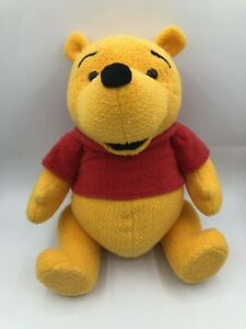 Official-Disney-Store-Winnie-The-Pooh-Bear-Plush-Kids-Stuffed-Toy-Animal-Posable