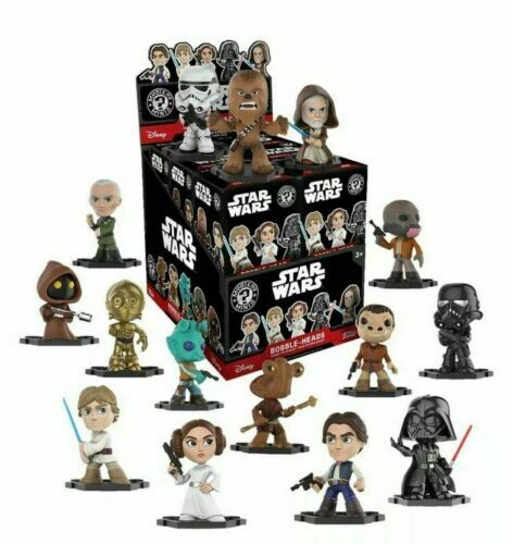 FUNKO STAR WARS MYSTERY MINIS FIGURE BOBBLE HEAD STOCKING FILLER