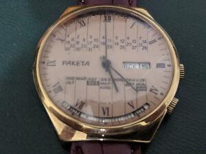 Watch-Raketa-perpetual-calendar-Fully-prepared-for-sale-passed-the-service