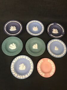 Details About Selection Of Vintage Wedgwood Jasperware Trinket Dishes Ashtrays