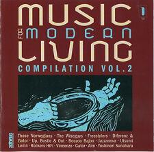 MODERN LIVING 2 = Jazzanova/Aim/Gator/Vincenzo/Lemn/Boozoo...= DOWNTEMPO NU JAZZ
