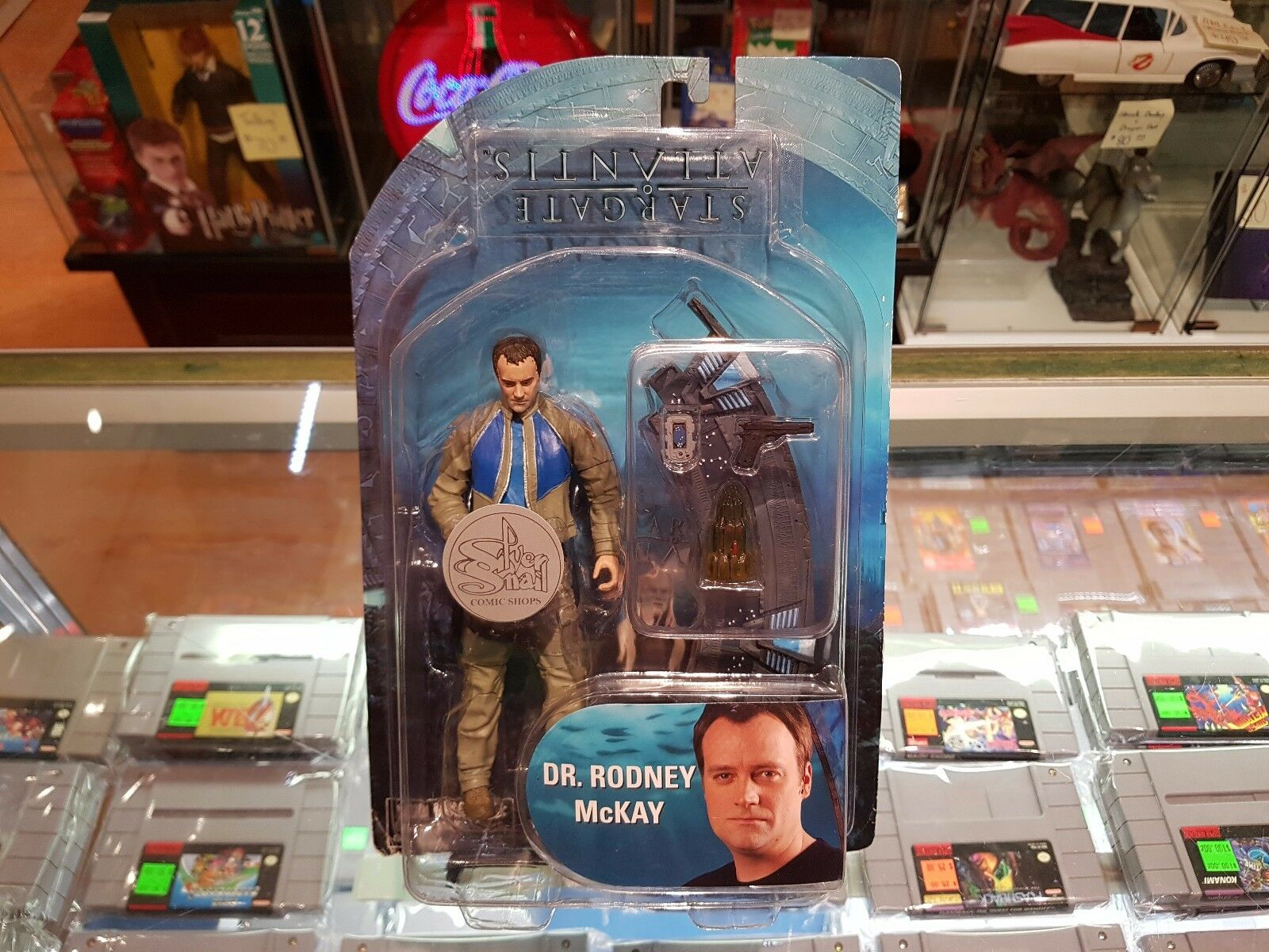 Diamond Select - Stargate Series 2 Dr. Rodney McKay Figure - FACTORY ERROR