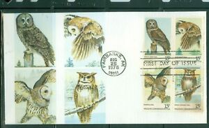US-FDC-1760-63-OWLS-CAN-AUG-26-1978-AK-ANDREWS-COVER-NOT-ADDRESSED