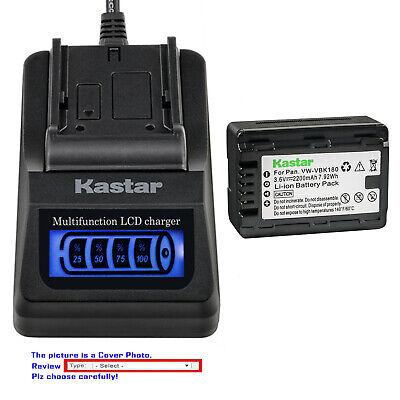 HDC-TM99 Full HD Camcorder Battery Charger for Panasonic HDC-TM60 HDC-TM90 HDC-TM80