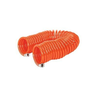 "Sealey AH10C/6 Compressor Coiled Air Line Hose 1/4 "" Inch 10 M Metre Meter Coil"