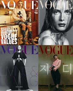 Vogue Corea 2020 De Enero Febrero Abril Noviembre Todo Revista Nº De Seguimiento Ebay