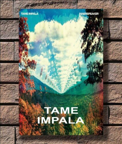 ZA1208 New Tame Impala Hot 2017 Psychedelic Poster Hot 40x27 36x24 18inch