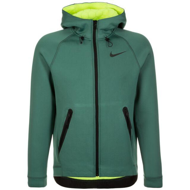 Men's Nike therma Sphere Max Full Zip Hood 800227 340 Size Small