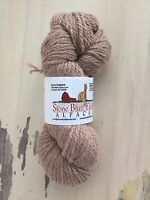 Alpaca Yarn - 3 Ply Bulky, 150 Yard Skein, Light Fawn / Tan, 100% Alpaca, Soft